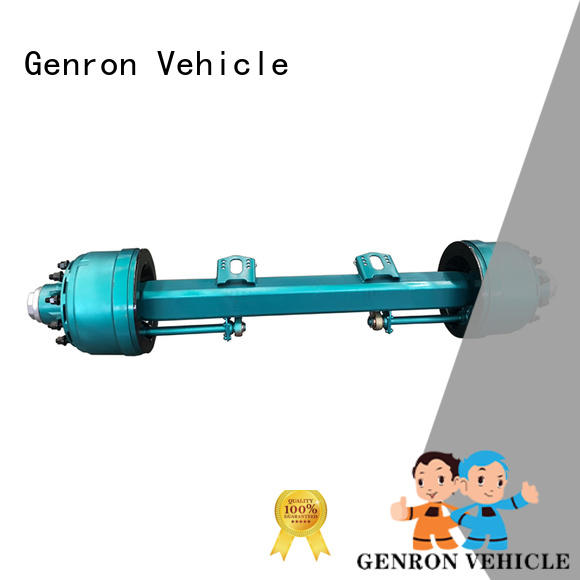 Genron top selling truck trailer axles factory direct supply for trailer