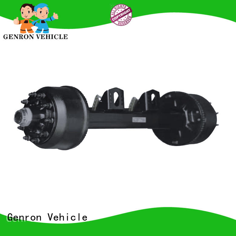 Genron factory price car trailer axles series for truck