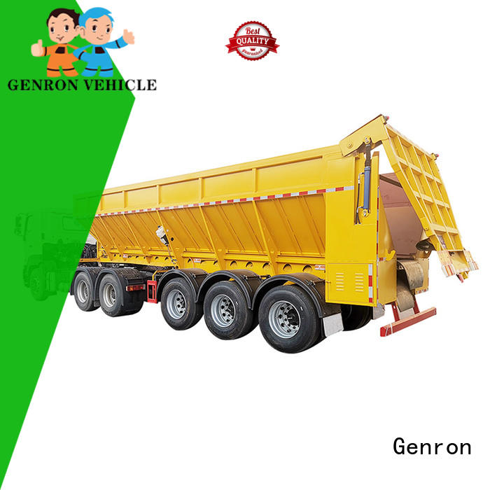 hot-sale semi truck dump trailer suppliers for trailer