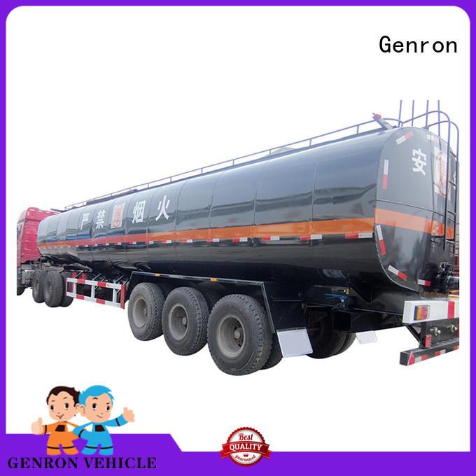 Genron best tanker semi-trailer factory bulk buy