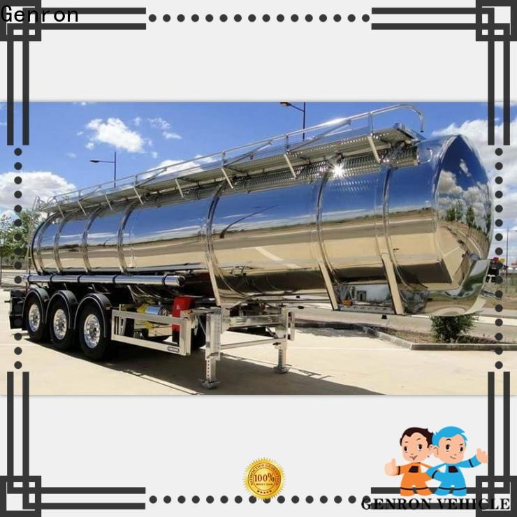 Genron types of tanker trailers wholesale bulk production