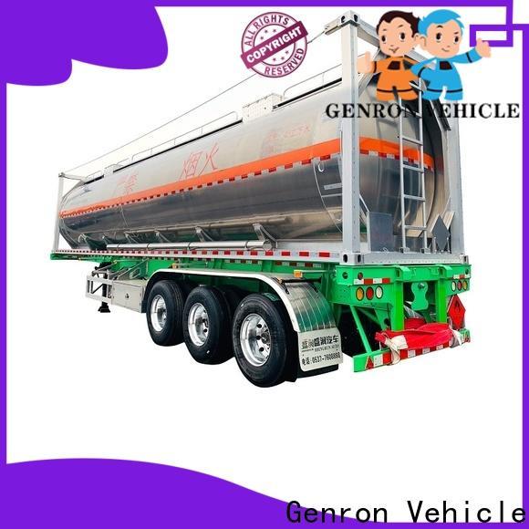 Genron practical cement hauling trailers wholesale bulk buy