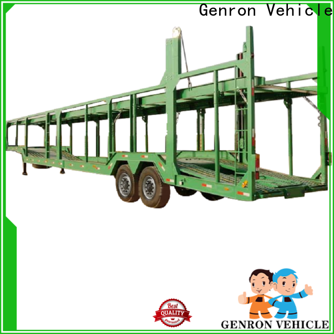 Genron automobile transport trailers from China bulk production