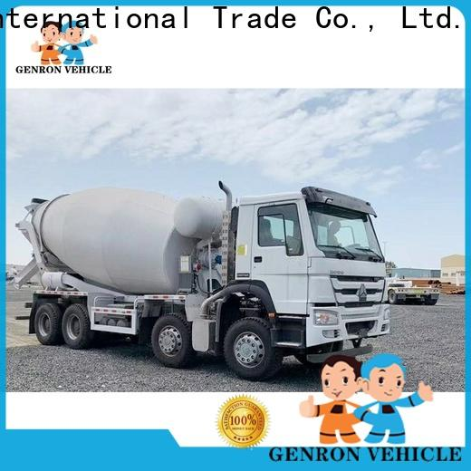 Genron semi trailer fuel tank factory for sale