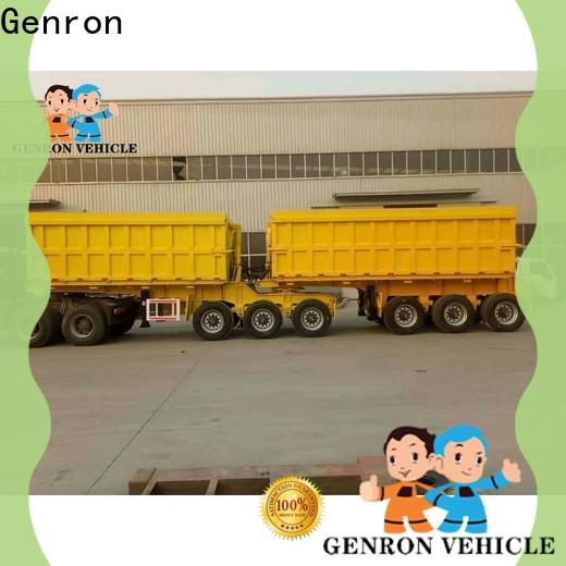 cost-effective custom end dump trailers supply for truck