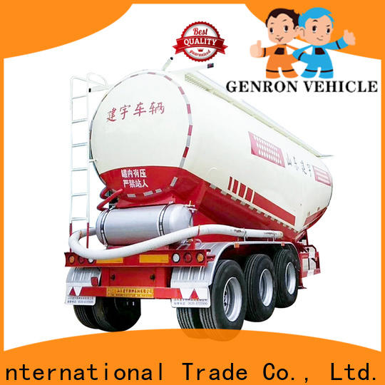 Genron professional fuel tanker trailer for sale directly sale for trailer