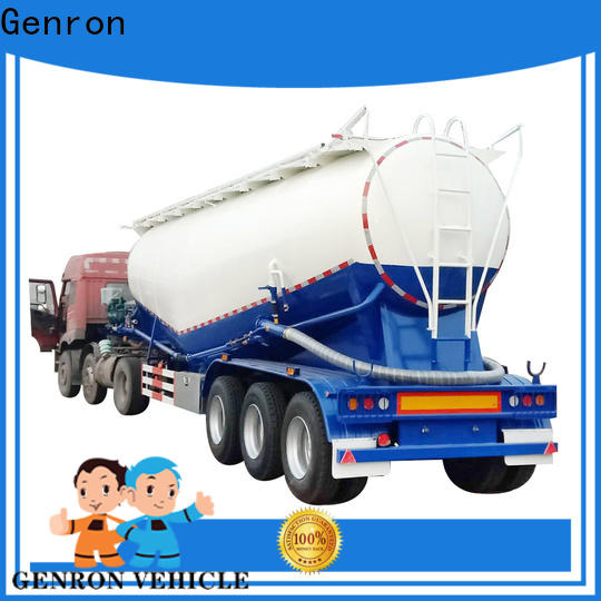 Genron customized lpg trailer tanker company for sale