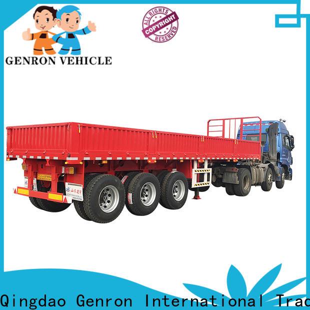 Genron bulk grain trailer company for transport