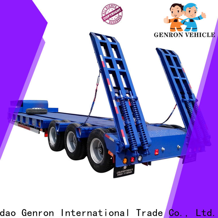 best price truck low bed trailer directly sale for sale