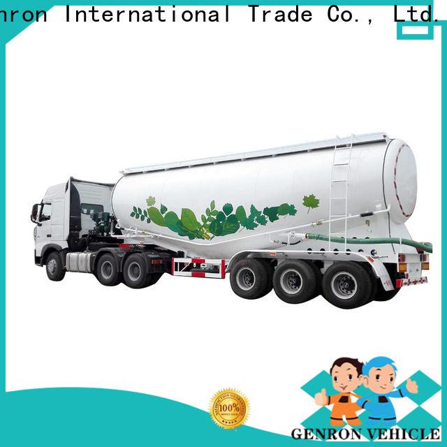 Genron bulk tanker trailer best supplier for promotion