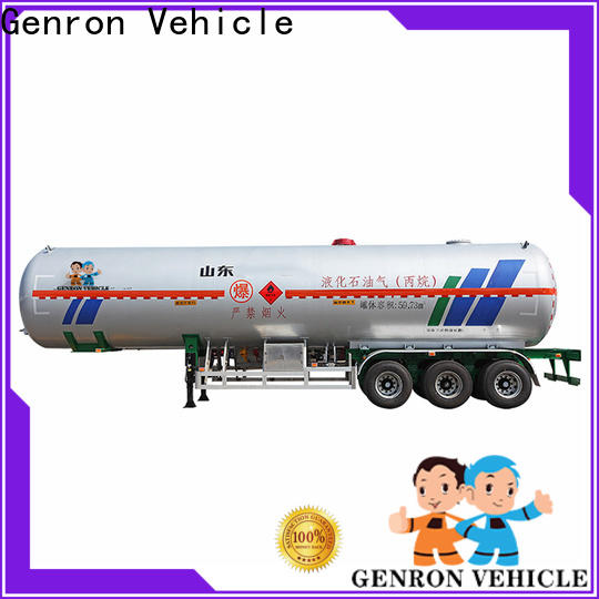 Genron oil tank trailer directly sale bulk buy