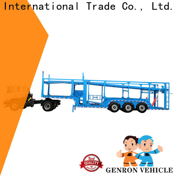 Genron semi car hauler trailer from China for vehicle