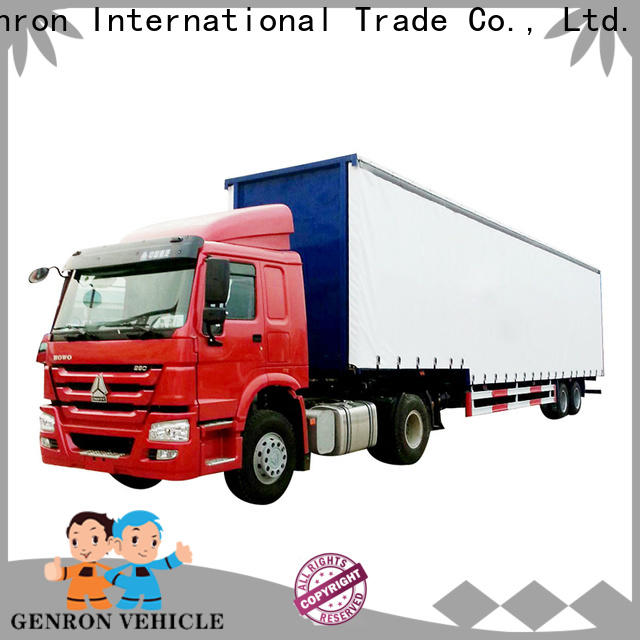 Genron top Steel Box Semi-trailer suppliers for promotion