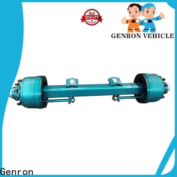 Genron square tube axles wholesale for promotion