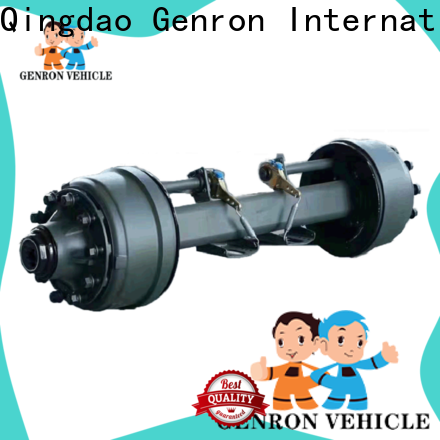 Genron promotional cargo trailer axles for sale factory direct supply bulk production
