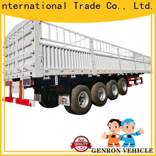popular best rated cargo trailers manufacturer for transport goods
