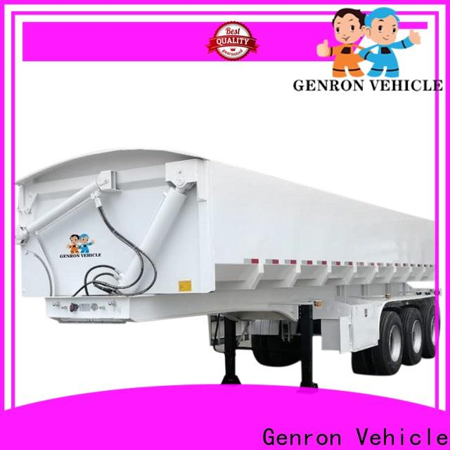 custom dump truck and trailer directly sale for promotion