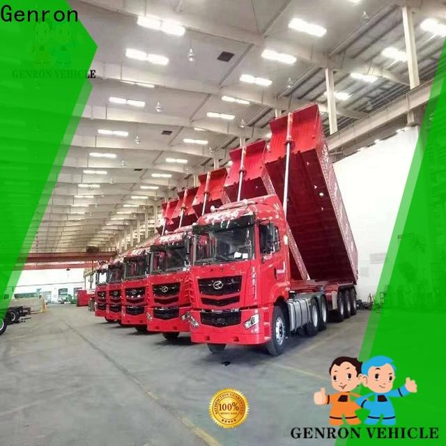 low-cost tractor trailer dump truck inquire now on sale