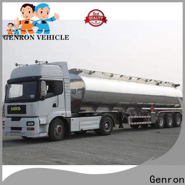Genron cement semi trailer supplier bulk buy