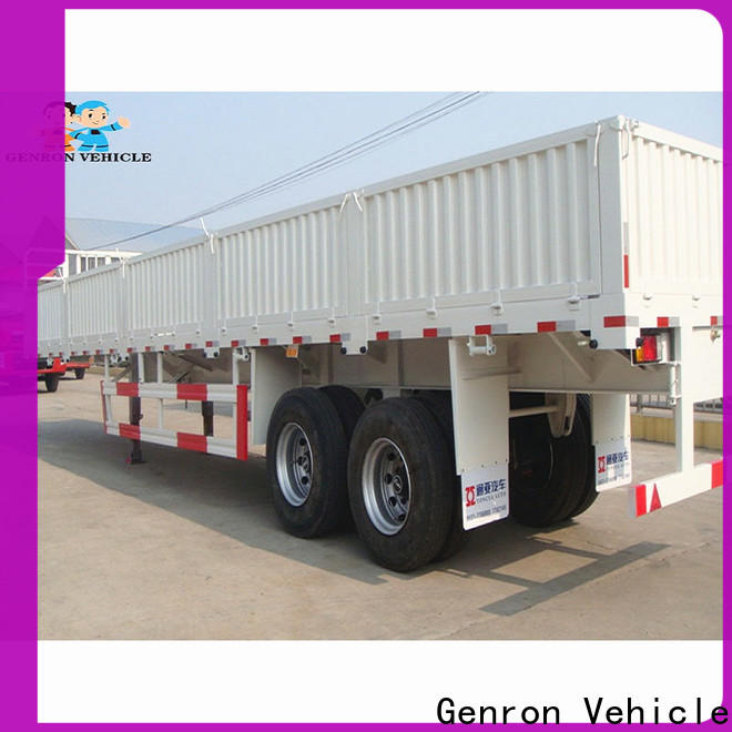 Genron top rated cargo trailers factory on sale