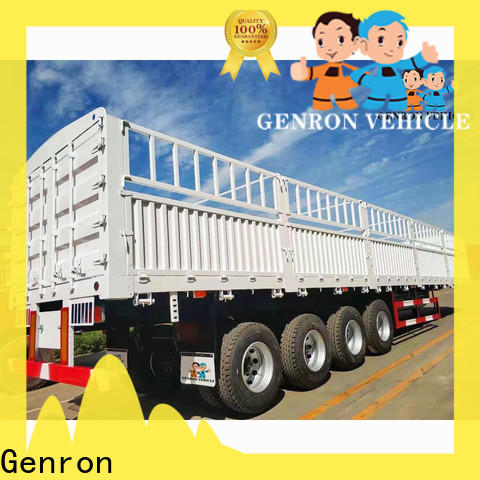 Genron custom cargo trailers series for transport