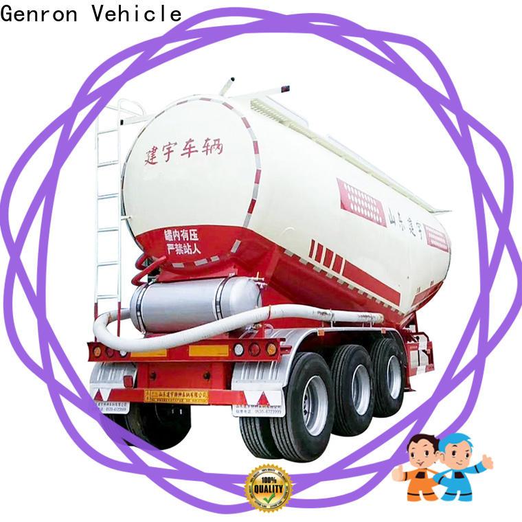 Genron lpg semi trailer manufacturer for promotion