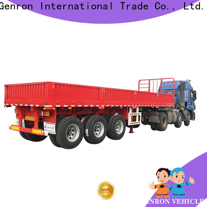customized best rated cargo trailers with good price bulk buy