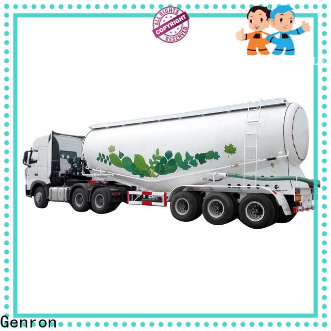 Genron latest lpg tank trailer factory for sale