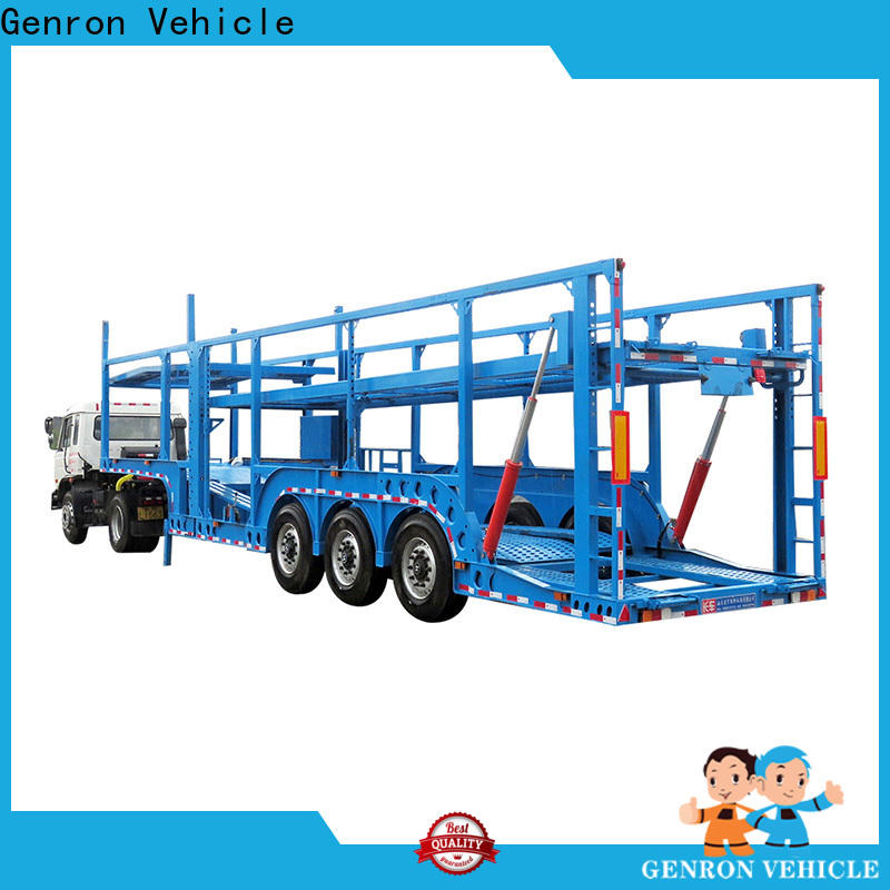 promotional 6 car trailer factory direct supply for truck