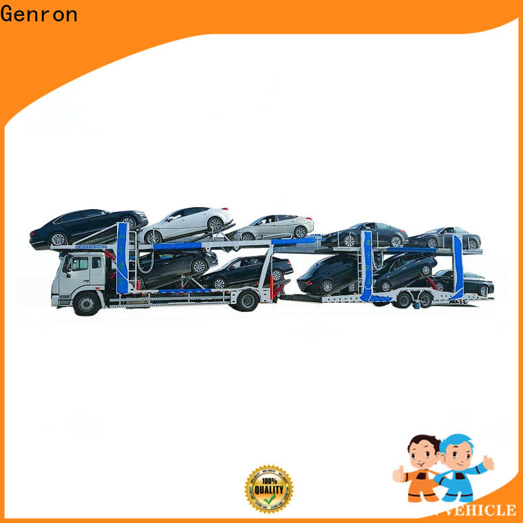 Genron quality multi car hauler trailer series for trailer