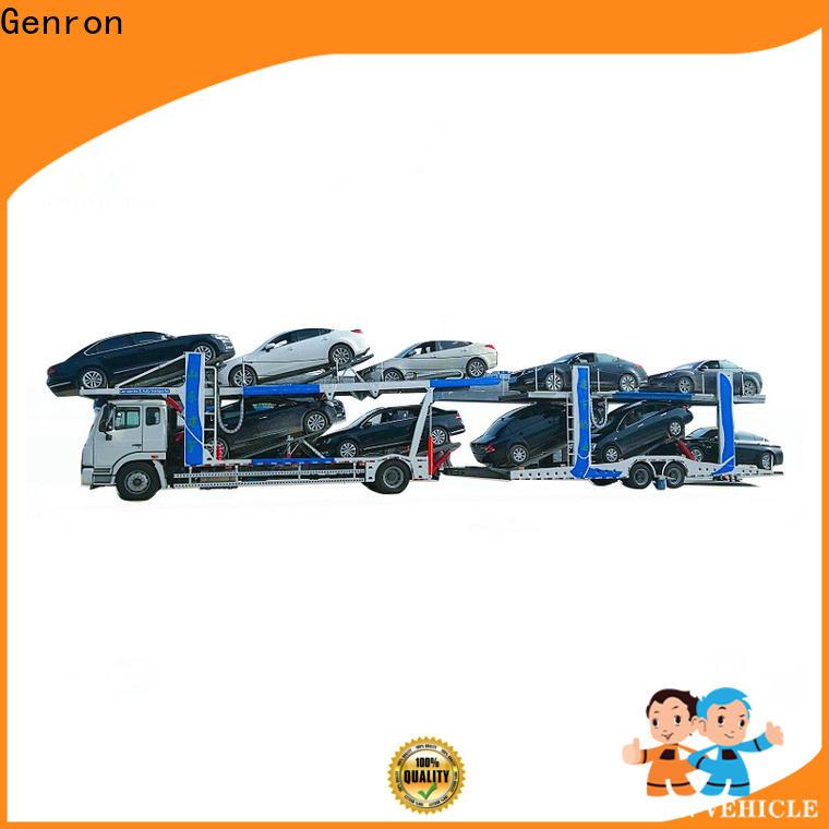 Genron quality multi car hauler trailer series for trailer