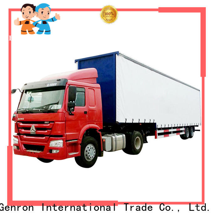 quality semi bed trailer company for transport goods