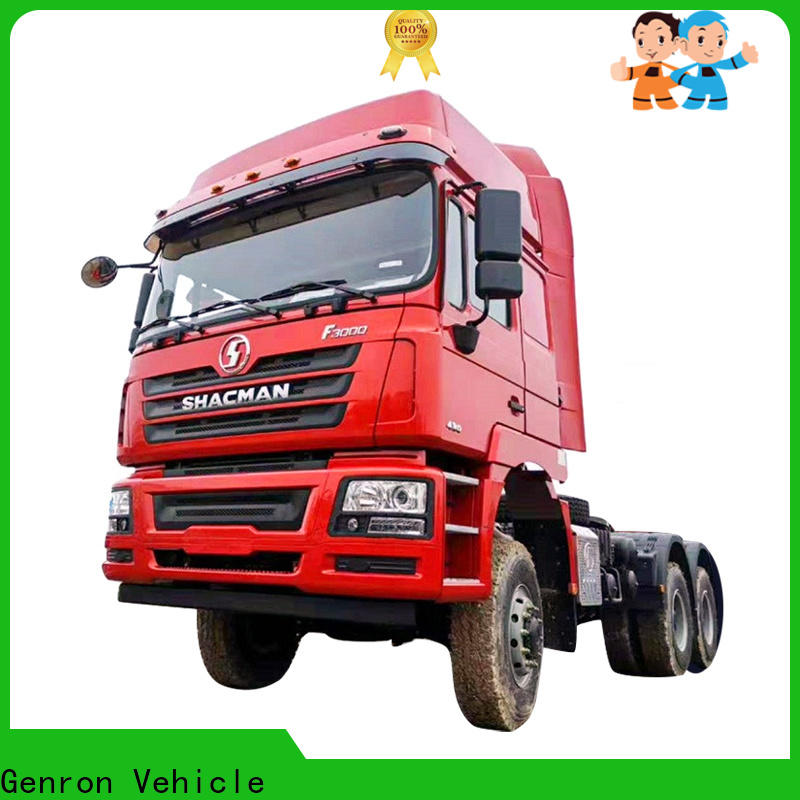 Genron second hand tractor units suppliers with high cost performance