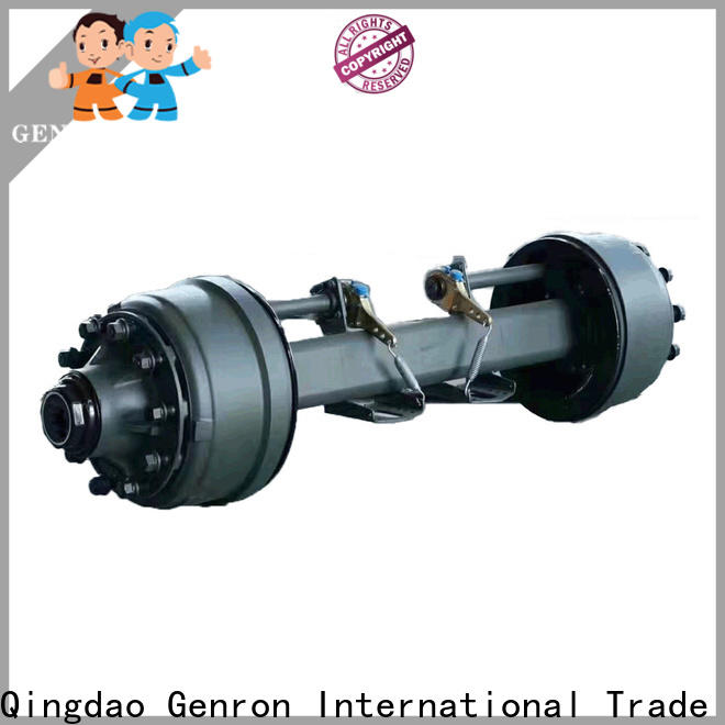 Genron top selling semi trailer axles directly sale on sale