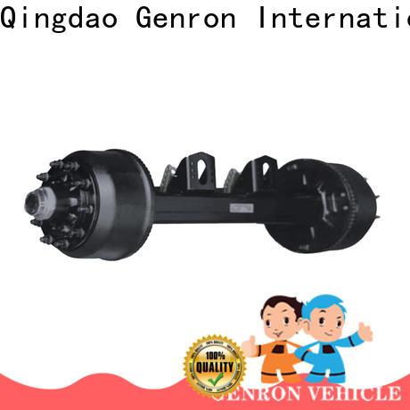 Genron cargo trailer axles for sale wholesale bulk production