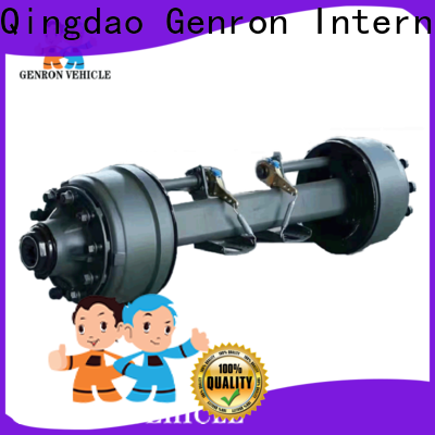 Genron durable rv trailer axles inquire now on sale