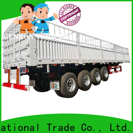 Genron best rated cargo trailers manufacturer on sale