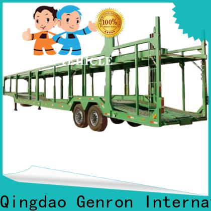 Genron transporter trailer supply bulk production