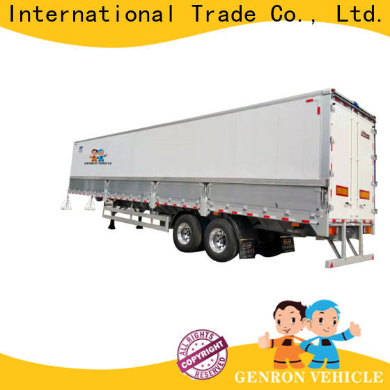 Genron 16 foot box trailer company for sale