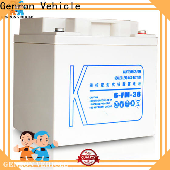 Genron best value discount truck batteries factory direct supply for sale
