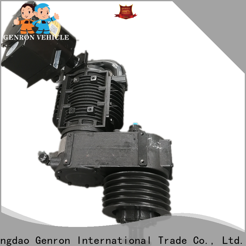Genron low-cost air compressor for trailer directly sale for promotion