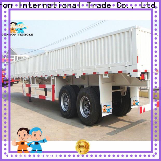 Genron top quality cargo semi trailer suppliers bulk production