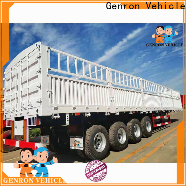 practical fence semi trailer from China bulk production