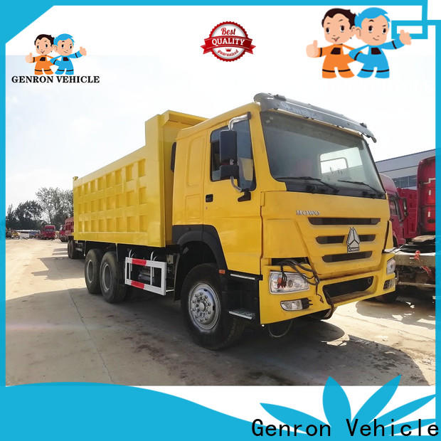 Genron best value second hand dumper trucks for sale company bulk buy