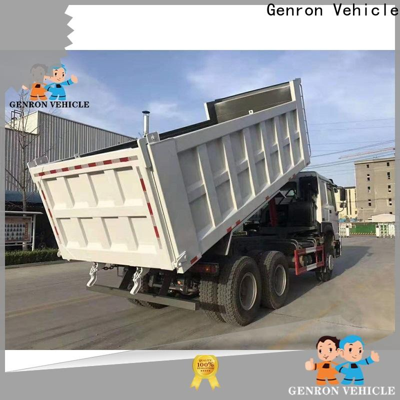 hot selling second hand tipper trucks supplier with high cost performance