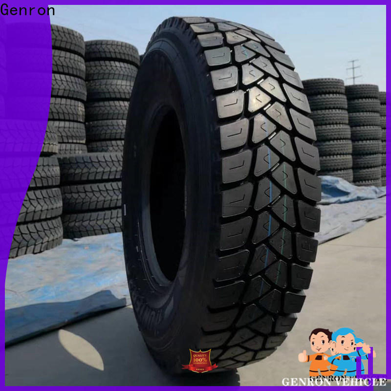Genron semi truck tires company bulk production