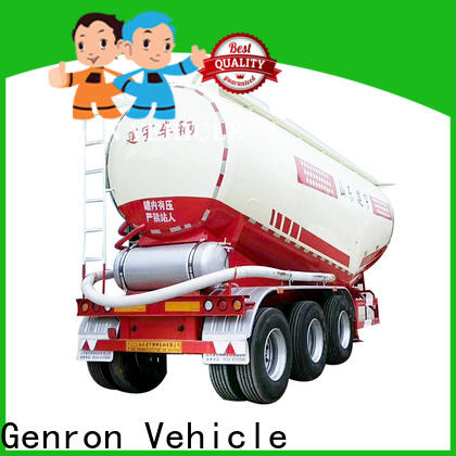 Genron cement tanker trailer for sale wholesale for promotion