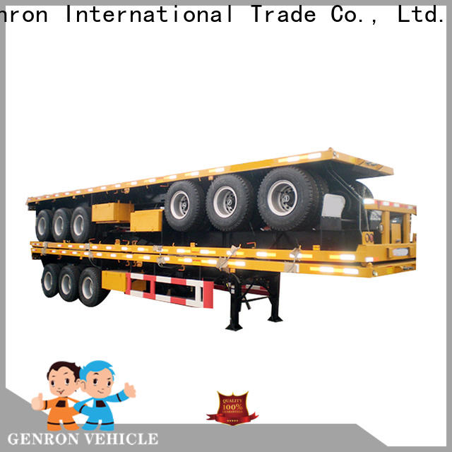 Genron high-quality container transport semi trailer supply for promotion