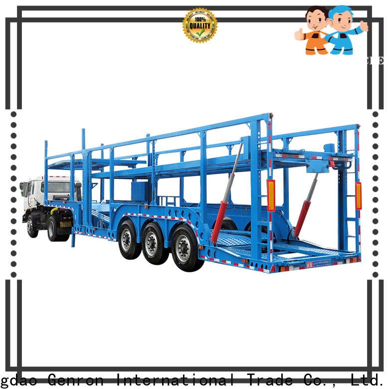 Genron car loading trailer supplier on sale