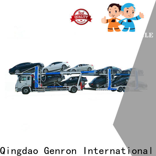 Genron transporter trailer with good price bulk production